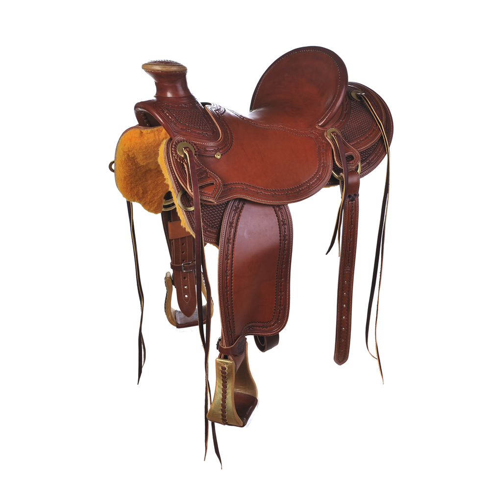 BURNS SADDLERY™ WADE RANCH SADDLE