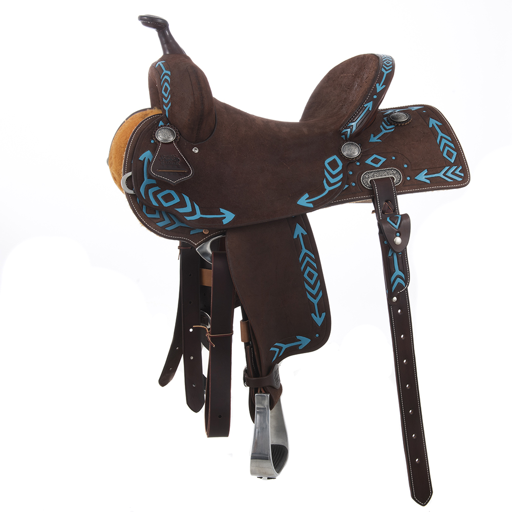 BURNS SADDLERY CHOC BARREL W/ARROW TOOL