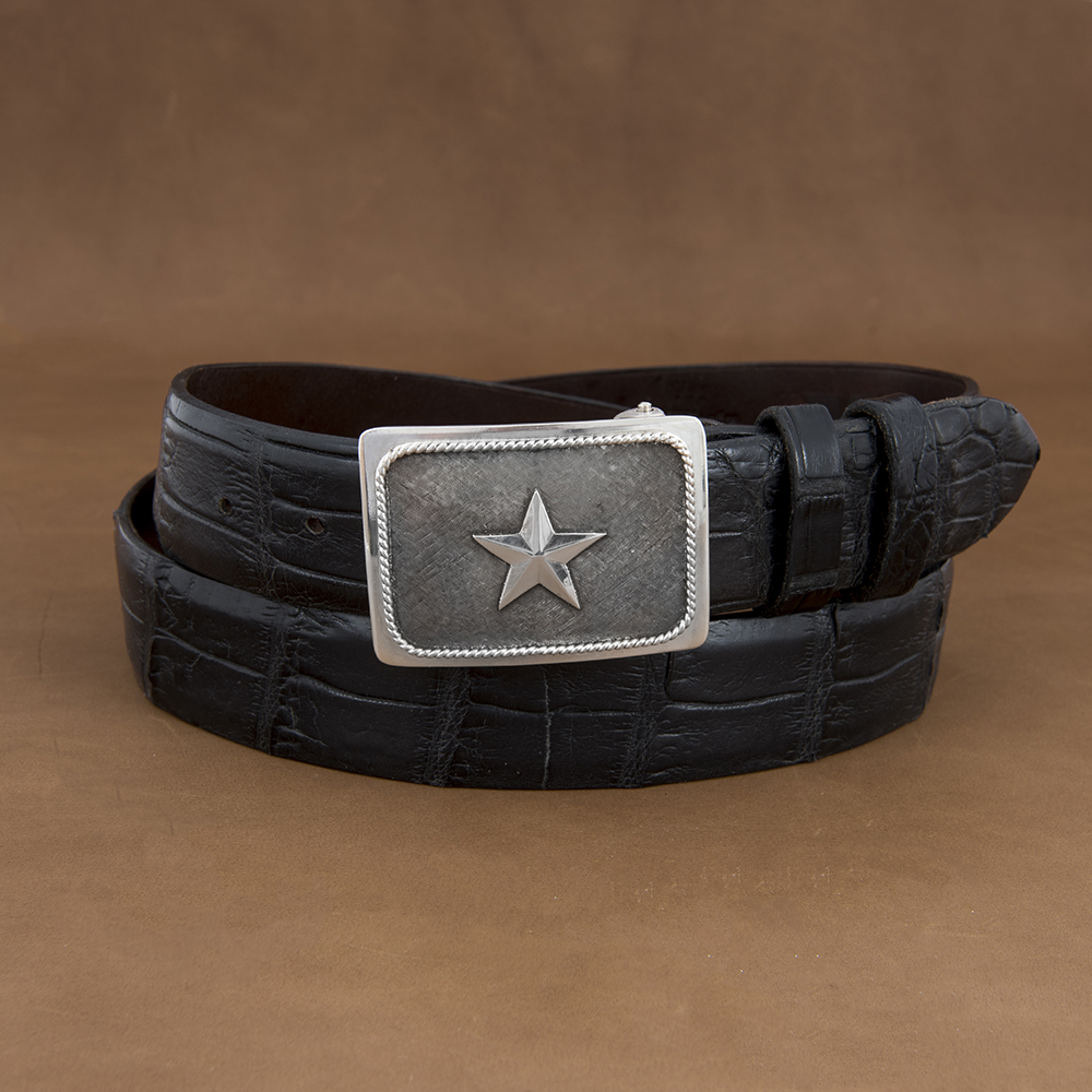 SUNSET TRAILS GROVE 4 BUCKLE W/ SS STAR