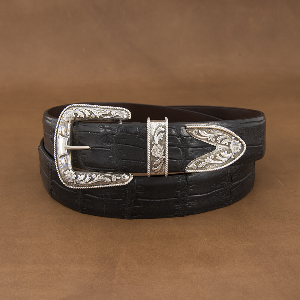 SUNSET TRAILS PAXTON SS BUCKLE SET