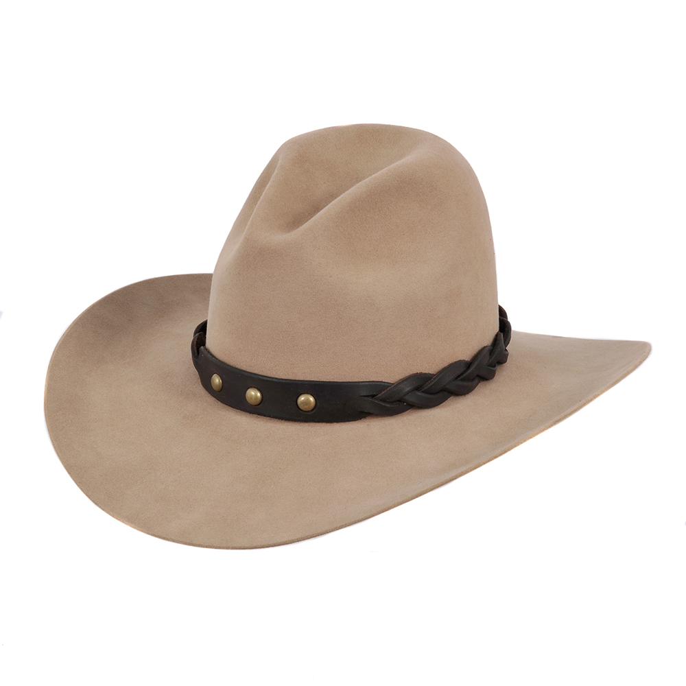 BURNS 1876 SPOT ON BRAID HAT BAND (53 AVAILABLE)