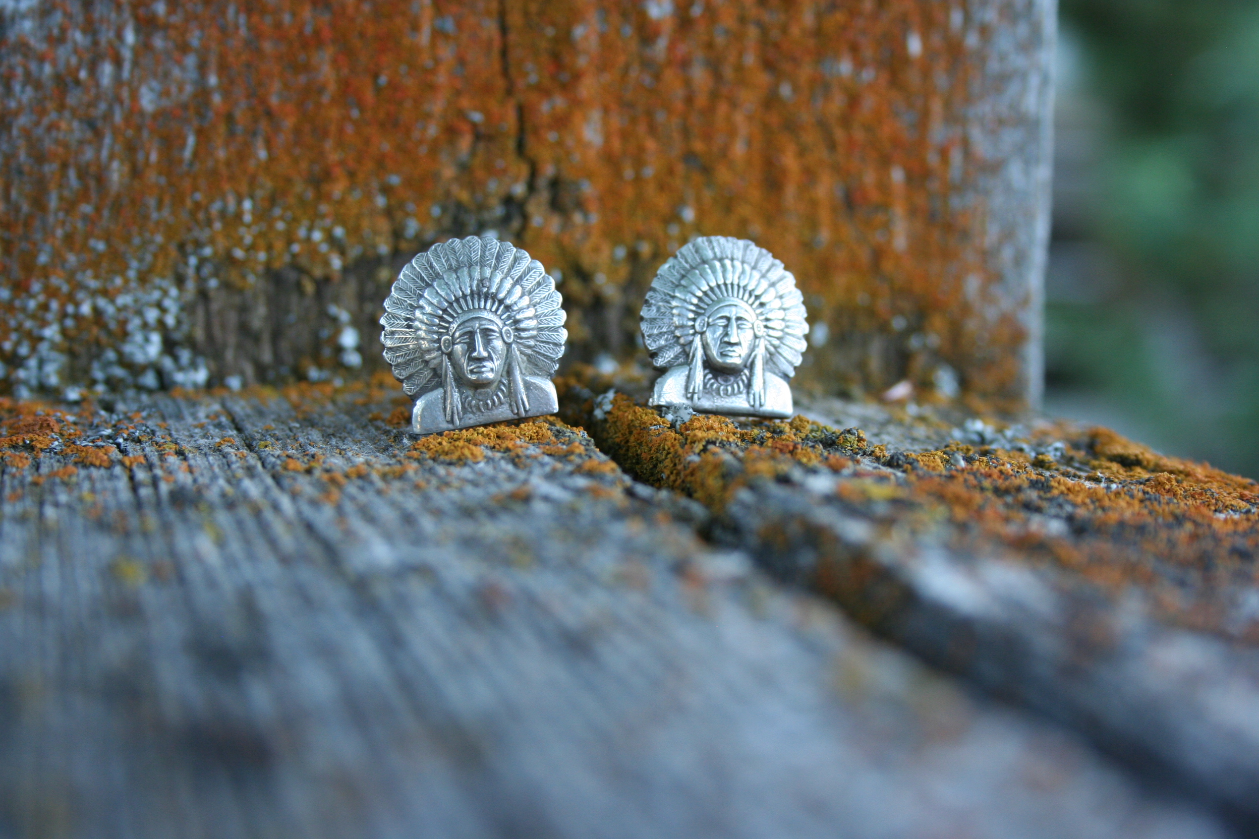 SUNSET TRAILS CHIEF CUFFLINKS (1 AVAILABLE)