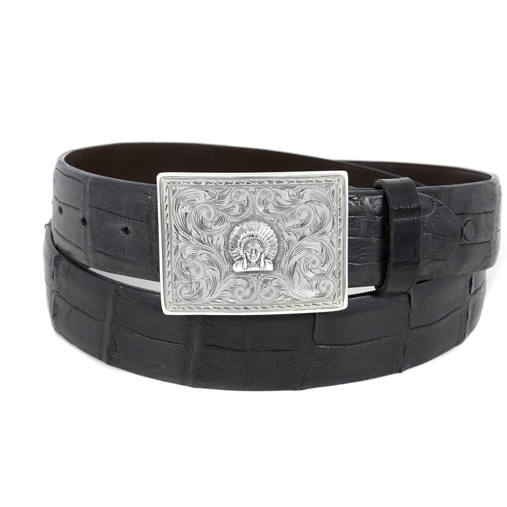 SUNSET TRAILS SAWTOOTH CHIEF BUCKLE