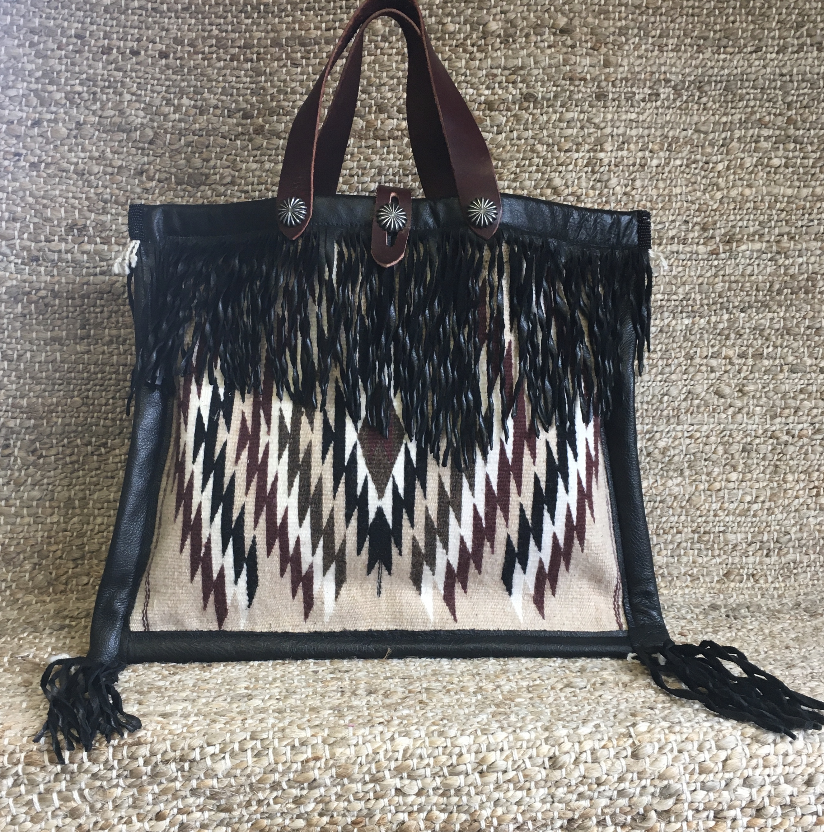 LARGE BEAD AND BLANKET BAG