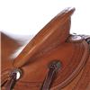 BURNS SADDLERY™ F.L. WADE RANCH SADDLE