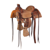 BURNS SADDLERY™ YOUTH RANCH ROPER SADDLE