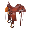 BURNS SADDLERY™ CUSTOM CUTTING SADDLE
