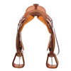 "BURNS SADDLERYâ""¢ RANCH ROPER SADDLE"