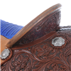 BURNS SADDLERY™ CALF ROPER W/ BLUE GATOR