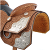 BURNS SADDLERY™ FULL/10X TOOLED REINER