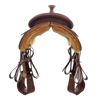 BURNS SADDLERY™ 1/2 BREED/BASKET SADDLE