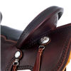 BURNS SADDLERY DARK CHESTNUT TRAIL  ()