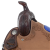 CUSTOM ELECTRIC BLU GATOR SHOOTER SADDLE ()
