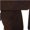 BURNS SADDLERY CHOCOLATE BARREL W/FLORAL
