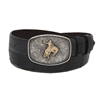 SUNSET TRAILS COLT BUCKLE W/14K BRONC ()