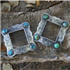 SMALL HART BUCKLE W/ WESTERN ENGRAVING