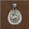 HORSESHOE-BRONC PENDANT (3 AVAILABLE)