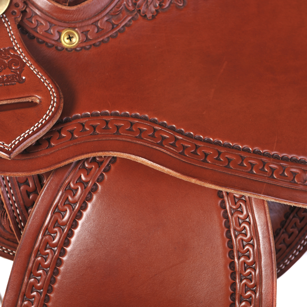 BURNS SADDLERY™ FORM FITTER SADDLE
