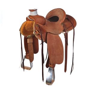 BURNS SADDLERY™ FLAT CREEK PACKER SADDLE
