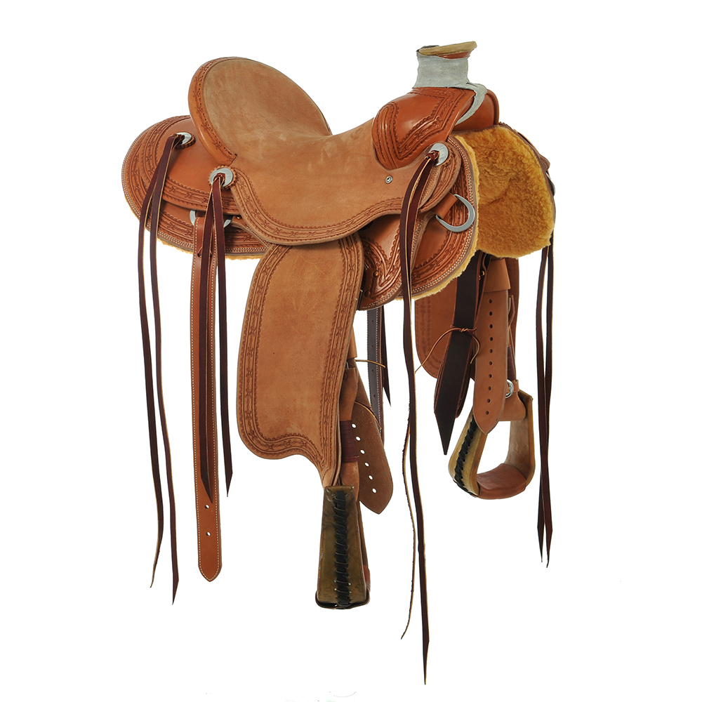 BURNS SADDLERY™ FLAT CREEK PACKER SADDLE