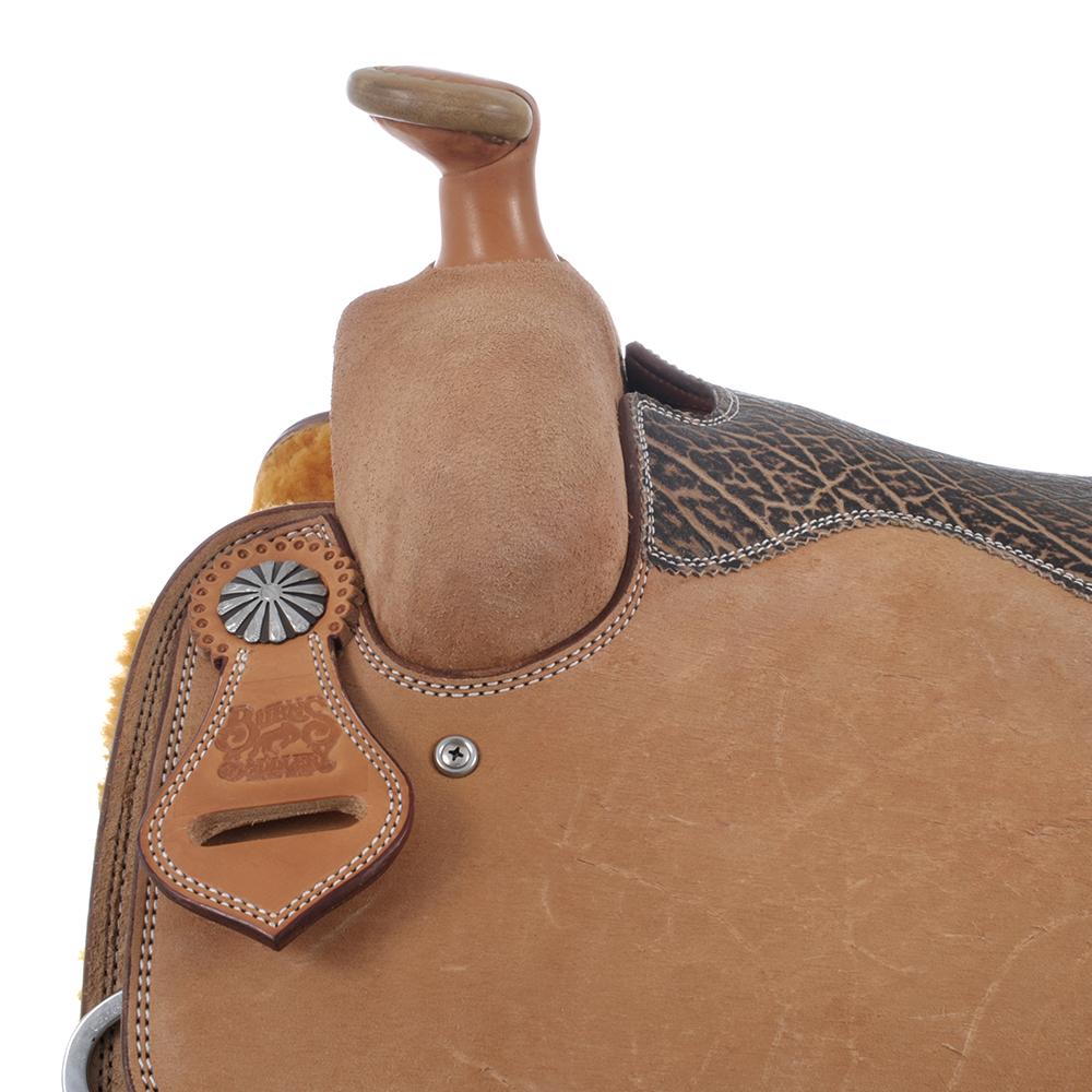BURNS SADDLERY™ ELEPHANT SEAT SADDLE