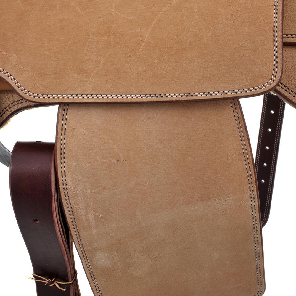 BURNS SADDLERY™ ELEPHANT SEAT SADDLE ()