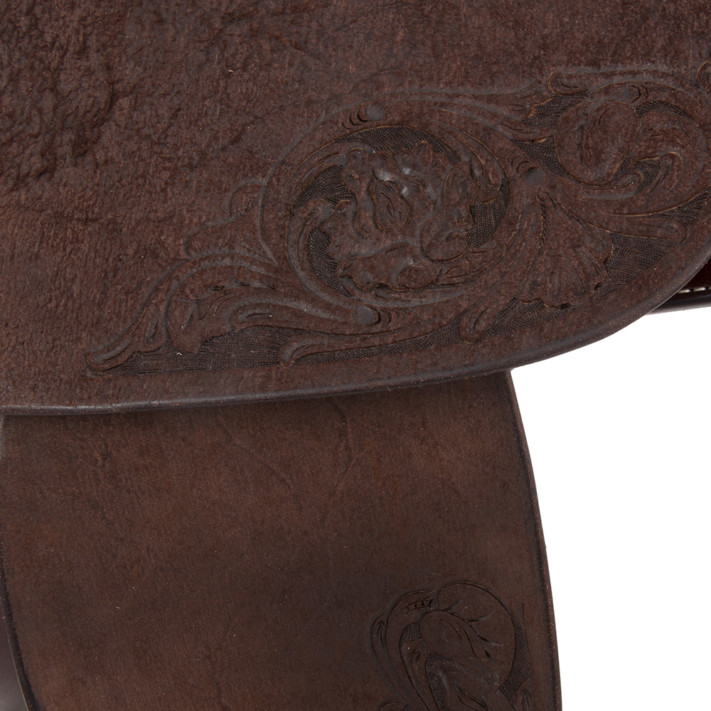 BURNS SADDLERY CHOC BARREL W/FLORAL