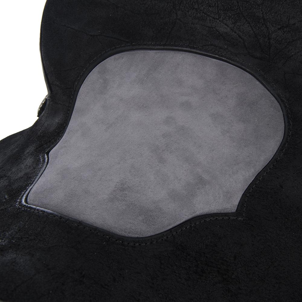 BURNS BLACK SO/RO BARREL SADDLE W/ CUSTOM SKIRT