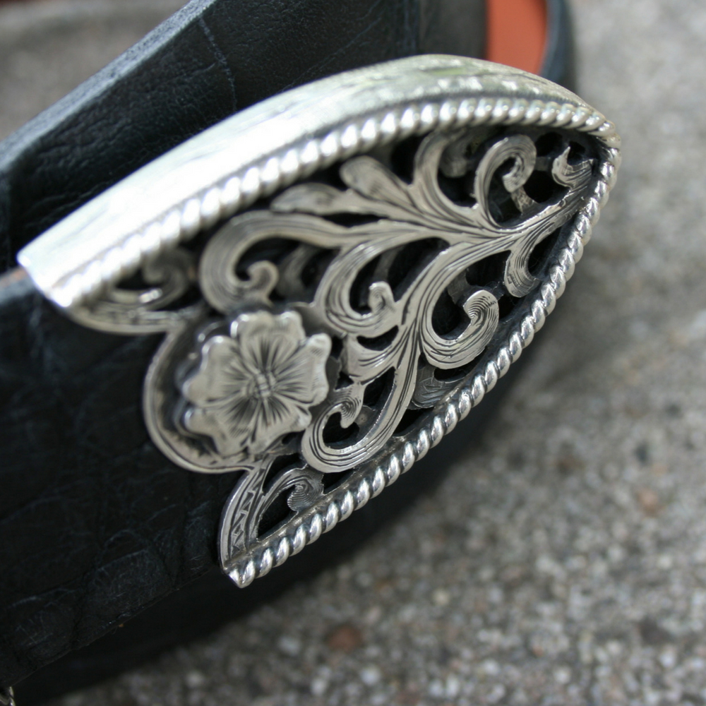 3 PC FILIGREE BUCKLE SET (1 AVAILABLE)