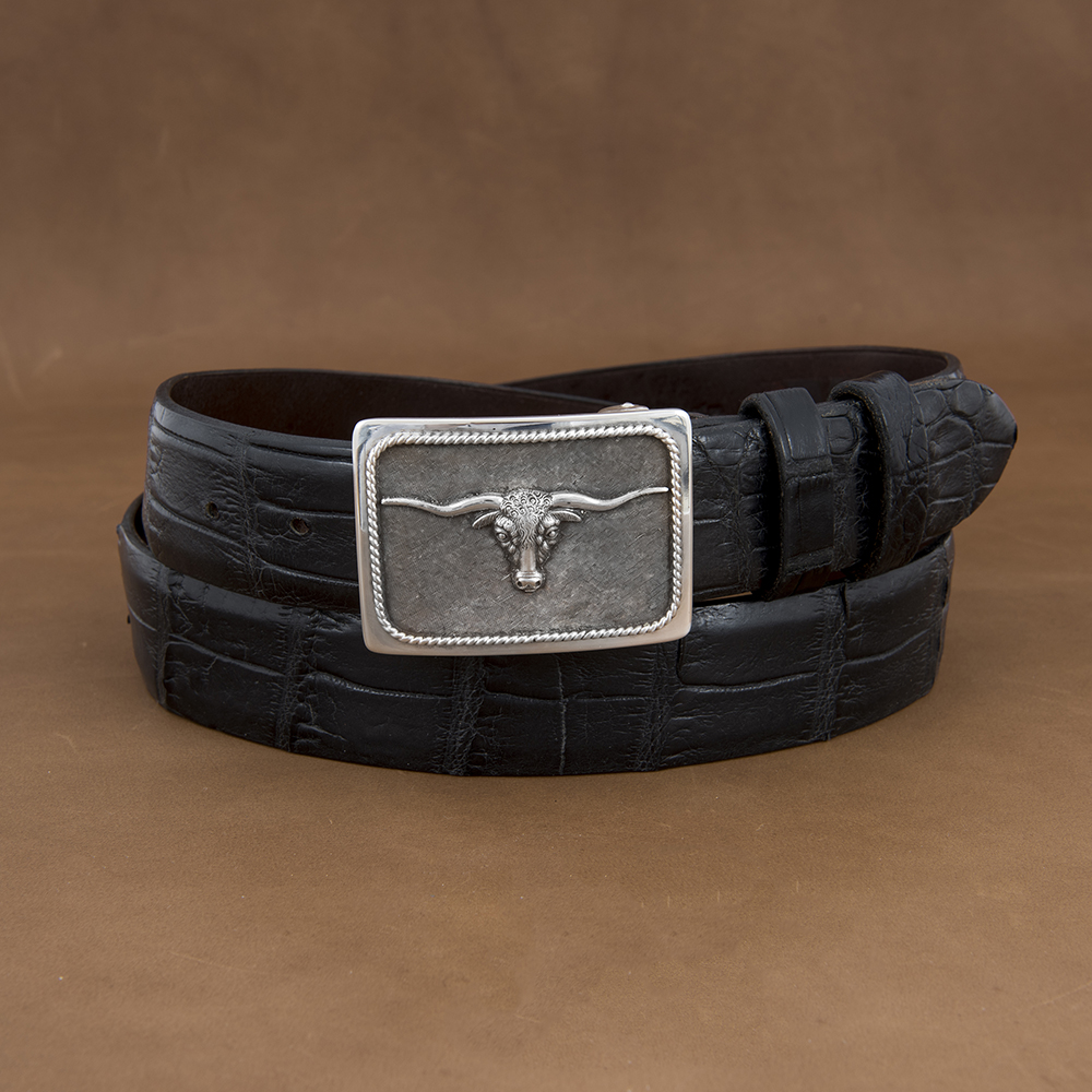 SUNSET TRAILS GROVE 4 BUCKLE W/ SS STEER