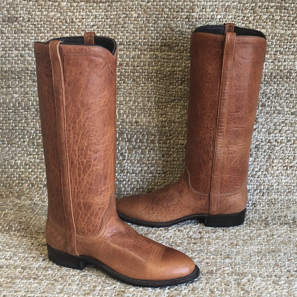 "LADIES HONEY BISON 15"" ROPER COWBOY BOOT"