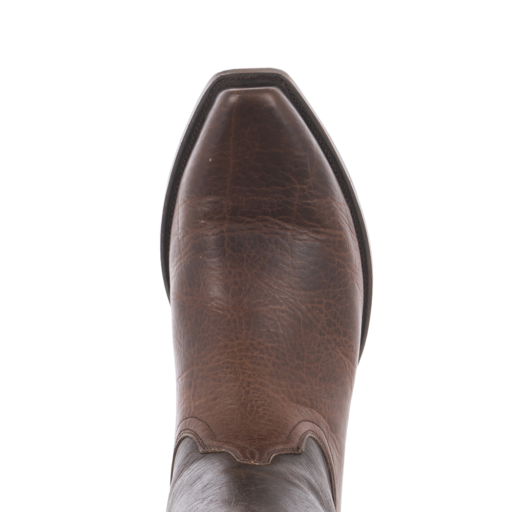 MEN'S MOCHA BISON COWBOY BOOT ()