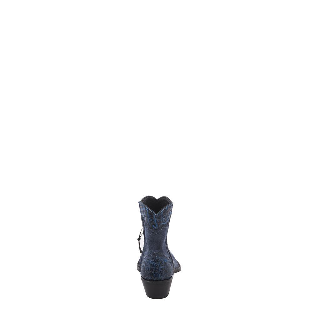 LADIES SHORTY NVY BREAK/ 2 TONE BLUE NILE WINGTIP