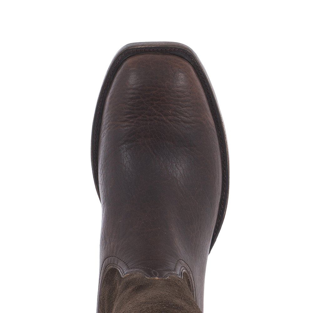 MENS MOCHA BISON / CH RO BASIC COLLAR AND SIDE SEAM