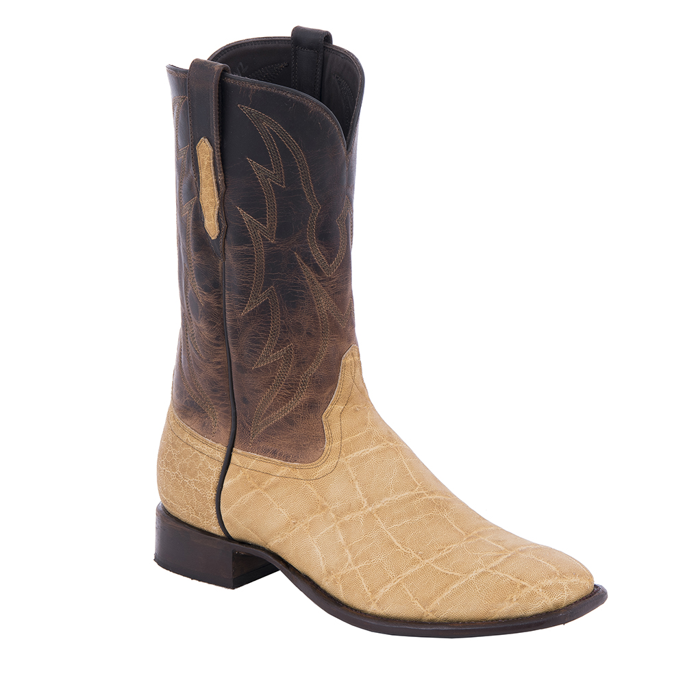 "Men's Cowboy 12"" Sand Elephant Canella Goat"