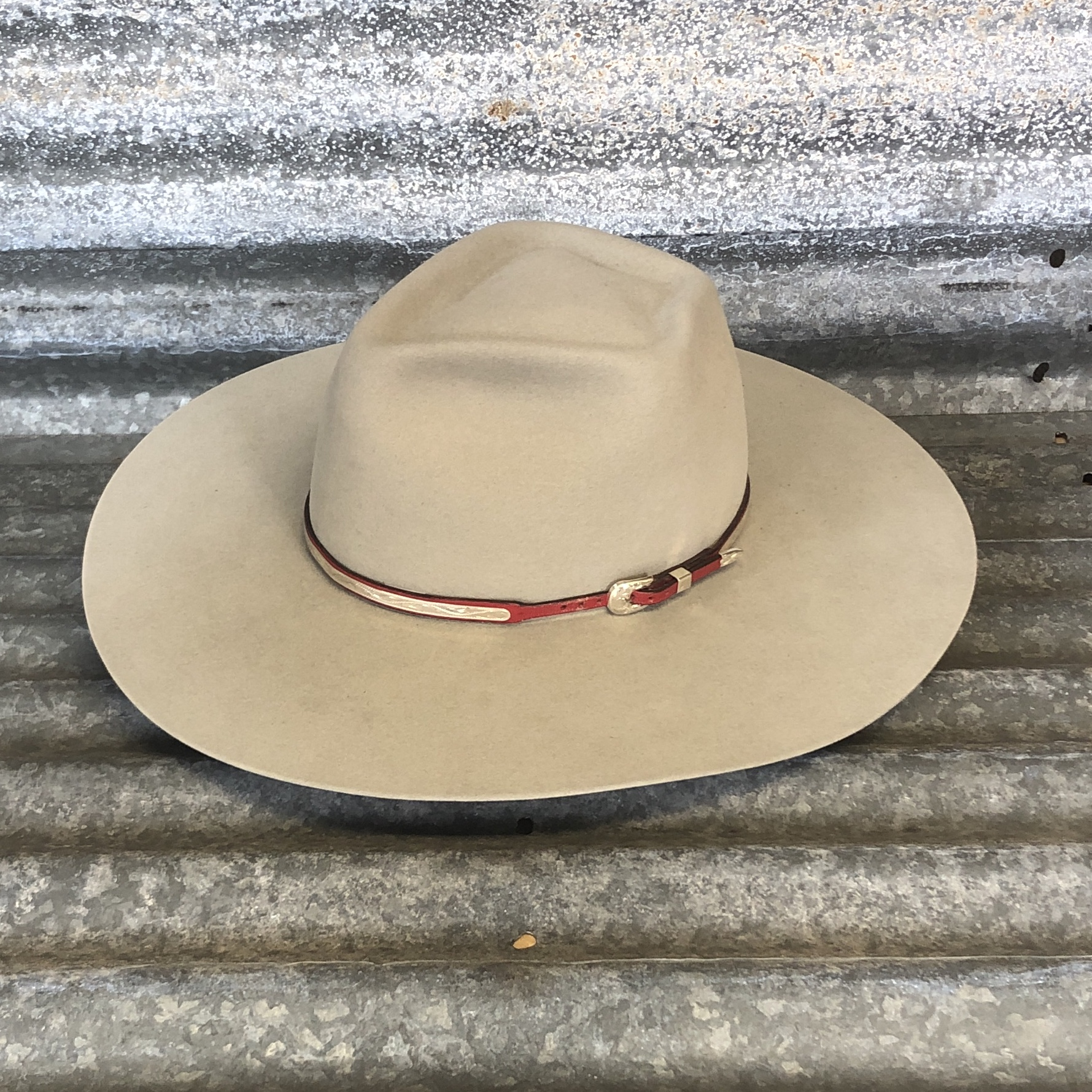SILVER BELLY ARROW WITH RED MONTIE MONTANA