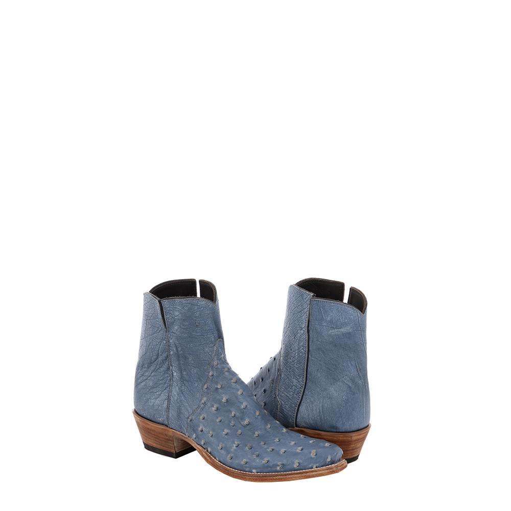 LADIES SHORTY JEANS BLUE OST