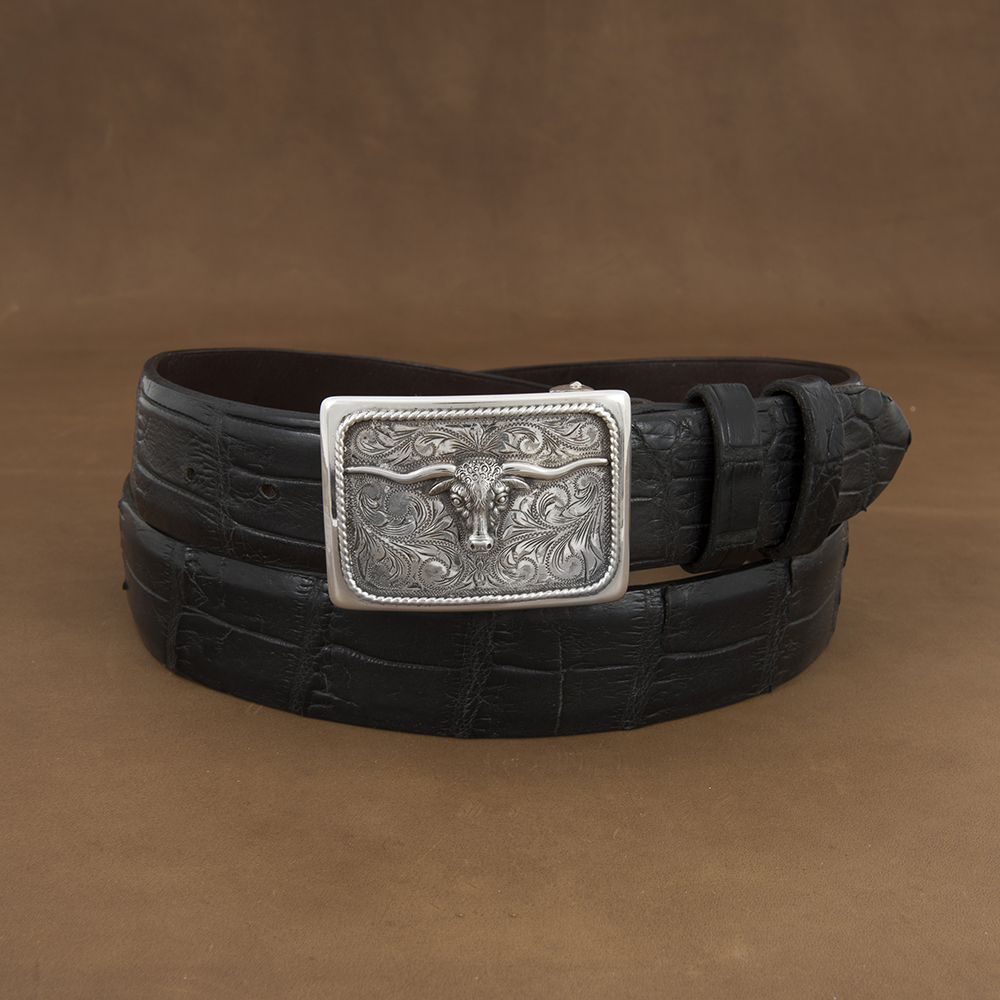 SUNSET TRAILS GROVE 5 BUCKLE W/ SS STEER
