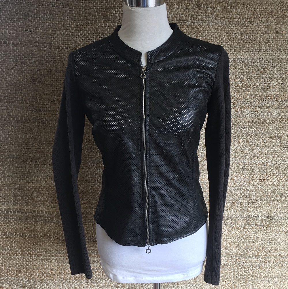 WOMEN'S LEATHER BLOUSON