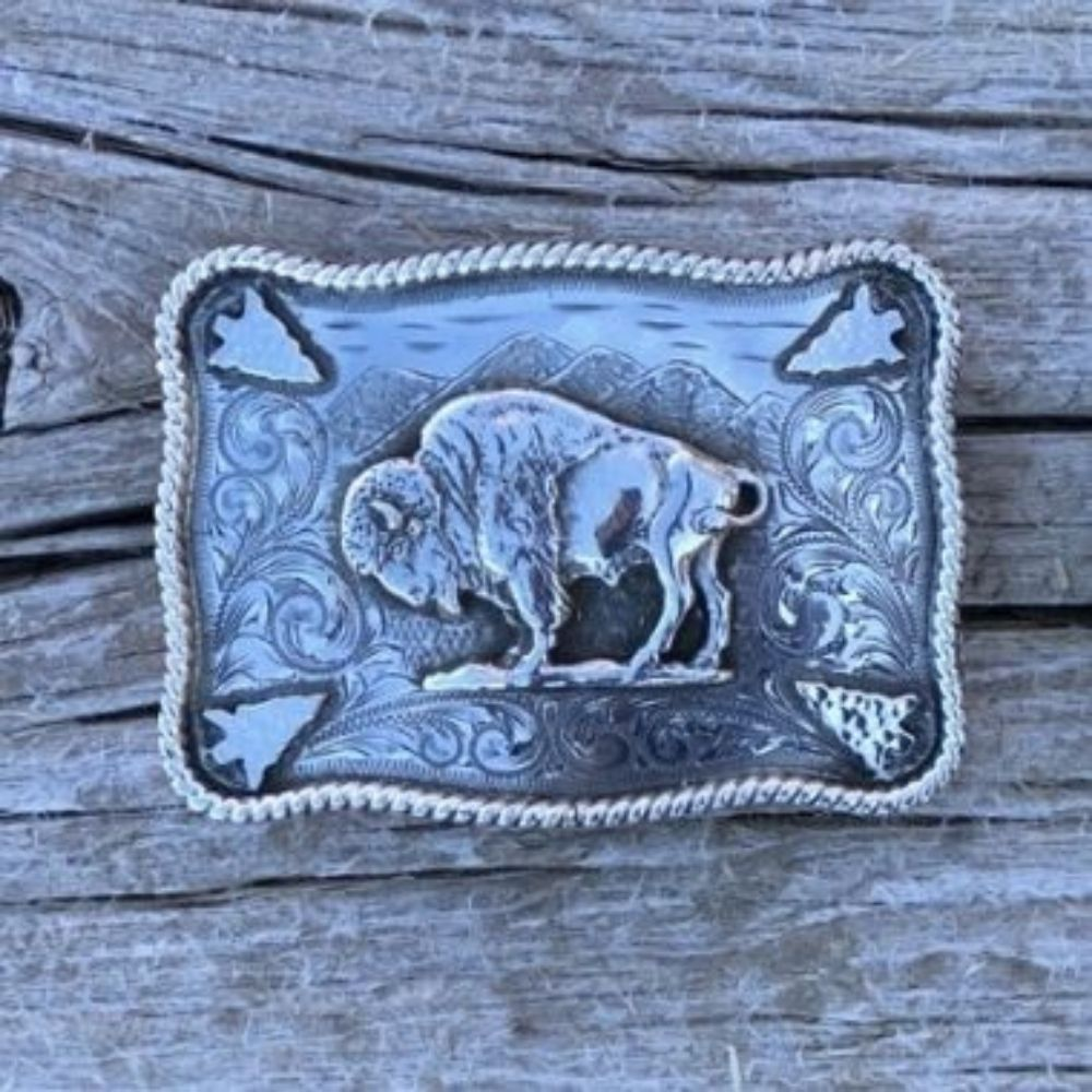 SUNSET TRAILS HENRY MOUNTAIN BUCKLE