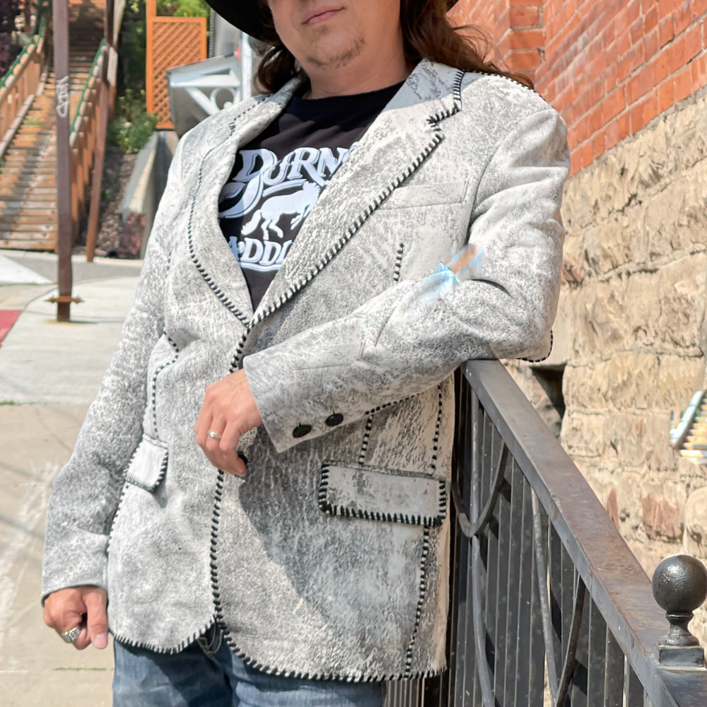 Men's White Palerider Jacket