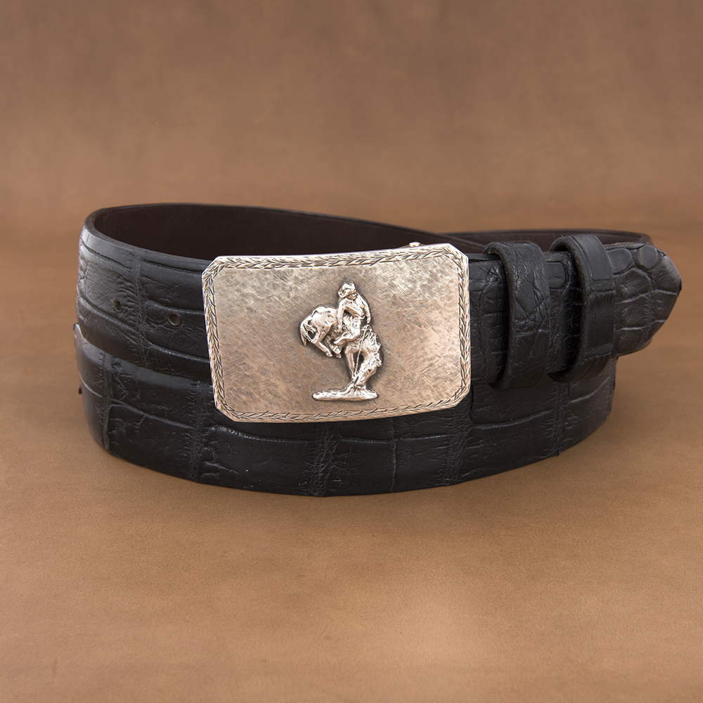SUNSET TRAILS MESA WT BUCKLE W/ CROSSHATCH & OUTLAW       /OUTLAW