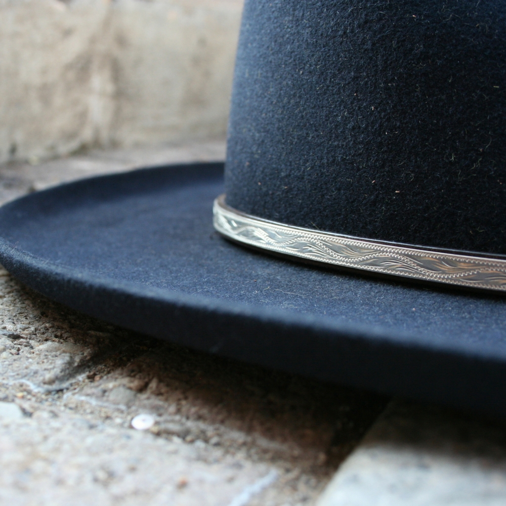 CHOCOLATE MONTIE MONTANA HATBAND (5 AVAILABLE)