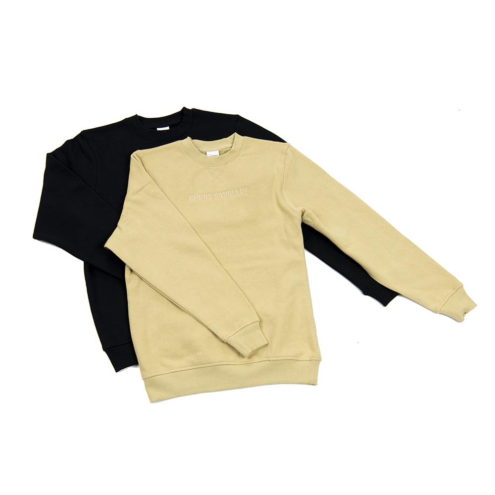 Burns Saddlery Crewneck Sweatshirt