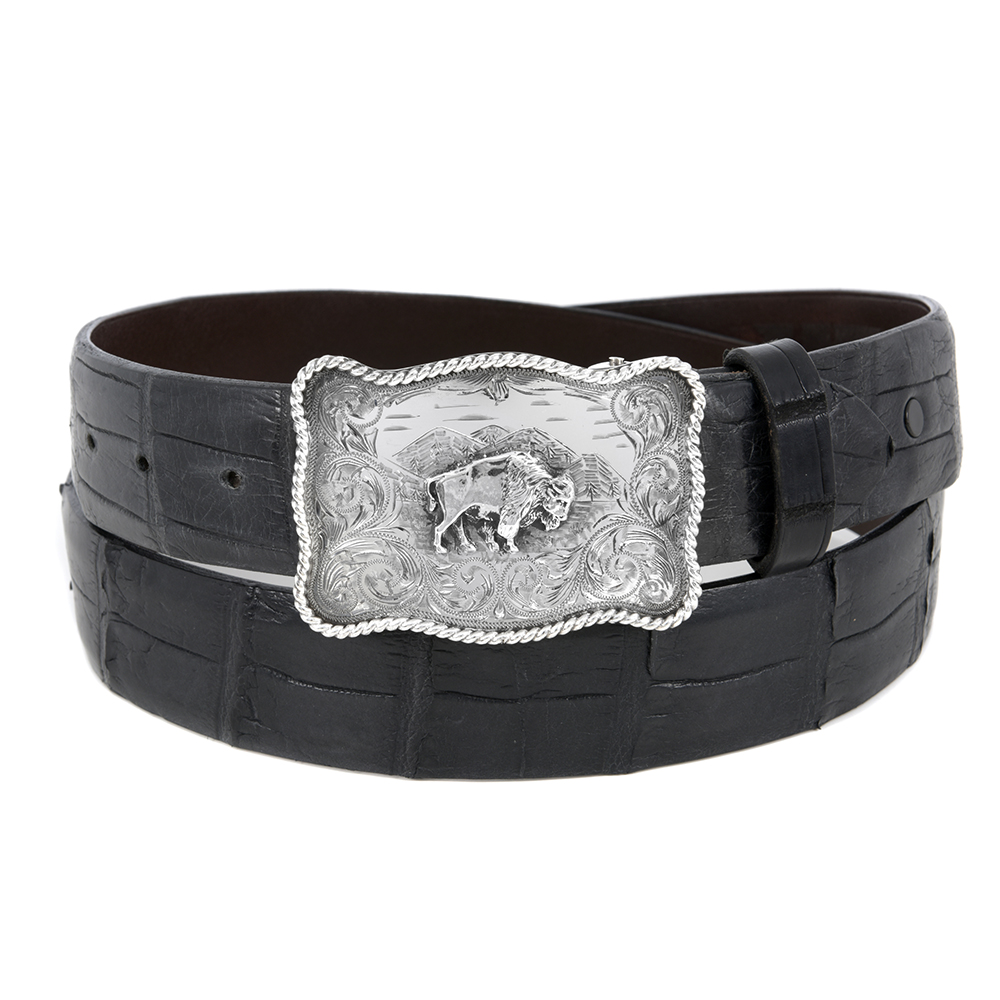 SUNSET TRAILS SWEETWATER BISON BUCKLE  ()
