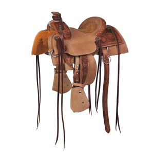 "BURNS SADDLERYâ""¢ YOUTH RANCH ROPER SADDLE"