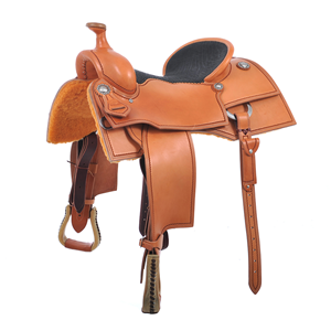 CUSTOM RANCH CUTTER SADDLE