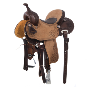 BURNS SADDLERY1/2 BREED D. BORDER