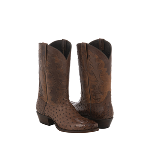 KANGO CC OSTRICH/WSKY BISON TOP BOOT