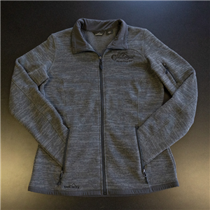 Ladies Full Zip Fleece Sweater